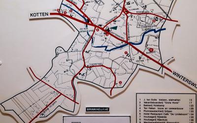 Oude Brinkheurnse plattegrond